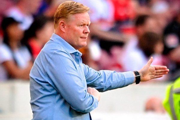 Barcelona have no plans to kick Ronald Koeman