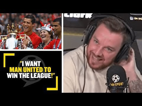 Jamie O'Hara wants Manchester United to win the Premier League.